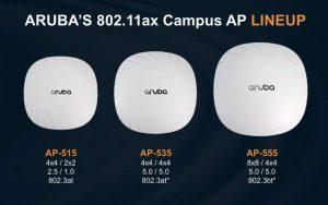 wifi ax Aruba wifi6